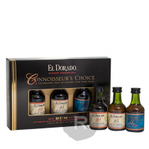 El Dorado - Pack 3 minis - 12 ans - 15 ans - 21 ans - 15cl - 40°