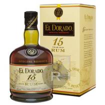 El Dorado - Rhum hors d'âge - Demerara Rum - 15 ans - 75cl - 40°