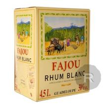 Fajou - Rhum blanc - Cubi - 4,5L - 50°