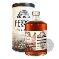 Ferroni - Rhum hors d'âge - Brut de fût - Australie - 2013 - 50cl - 60,4°