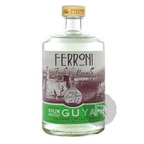 Ferroni - Rhum blanc - La Dame Jeanne 12 - Guyane - 70cl - 57°
