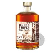 Ferroni - Rhum ambré - Boucan d'enfer - Rhum fumé - Vielli en fût de Whisky Islay - 70cl - 50°