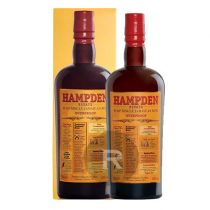 Hampden - Rhum hors d'âge - Pure Single Jamaican Rum - 8 ans - Overproof - 70cl - 60°
