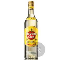 Havana Club - Rhum blanc - Anejo 3 Anos - 70cl - 40°