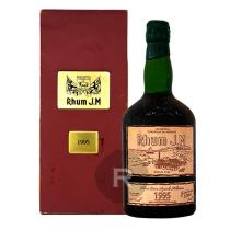 JM - Rhum hors d'âge - Millésime 1995 - Etiquette cuir - Coffret bois - 70cl - 44,8°