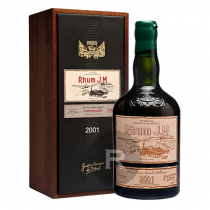 JM - Rhum hors d'âge - Millésime 2001 - 15 ans - Etiquette cuir - 70cl - 41,7°