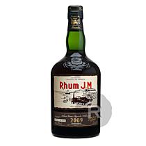 JM - Rhum hors d'âge - Millésime 2009 - Numérotée - 70cl - 42,3°