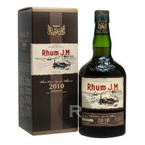 JM - Rhum hors d'âge - 10 ans - Millésime 2010 - Numérotée - 70cl - 43,4°
