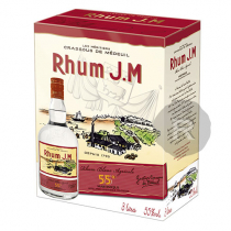 JM - Rhum blanc - Cubi - 3L - 55°