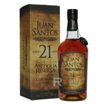 Juan Santos - Rhum hors d'âge - Antigua Reserva - 21 ans - 70cl - 40°