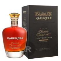Karukera - Rhum hors d'âge - Cuvée Christophe Colomb 1493 - Carafe et coffret - 70cl - 45°