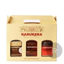 Karukera - Coffret 3 flasques 20cl - Canne Bleue, Gold et Réserve Spéciale - 60cl - 45°