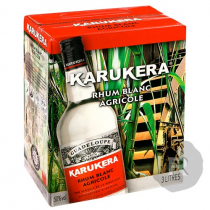 Karukera - Rhum blanc - Canne Bleue - Cubi - 3L - 50°