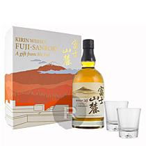 Kirin - Whisky - Coffret 2 verres - Fuji Sanroku Blended - 70cl - 46°