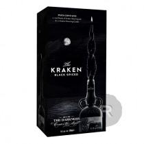 Kraken - Rhum ambré - Black spiced rum - Coffret bougie - 70cl - 47°