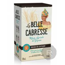 La Belle Cabresse - Rhum blanc - Cubi - 2L - 50°