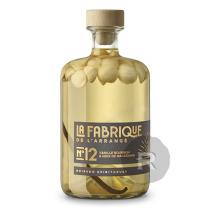 La Fabrique de l'Arrangé - Rhum arrangé N°12 - Vanille Bourbon & Noix de Macadamia - 70cl - 31°