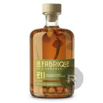 La Fabrique de l'Arrangé - Rhum arrangé N°11- Vanille Bourbon & Noisette du Piemont - 70cl - 31°