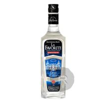 La Favorite - Rhum blanc - Cœur de canne - 1L - 50°