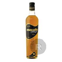 Macollo - Rhum hors d'âge - Black - 12 ans - Organic - 70cl - 38°