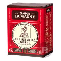 La Mauny - Rhum ambré - Elevé sous bois - Cubi - 4,5L - 40°