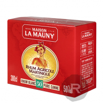 La Mauny - Rhum blanc - Cubi - 3L - 50°