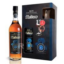 Malteco - Rhum hors d'âge - 10 ans  - Reserva Aneja - Coffret 2 verres - 70cl - 40°