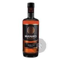 Mana'o - Rhum ambré - Paille - Pur Jus de canne - Bio - 70cl - 43°
