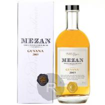 Mezan - Rhum hors d'âge - Guyana Diamond Versailles - Millésime 2003 - 70cl - 40°