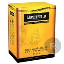 Montebello - Rhum ambré - Cubi - 3L - 50°