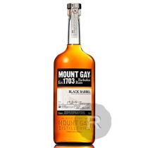 Mount Gay - Rhum très vieux - Black Barrel - 1L - 43°