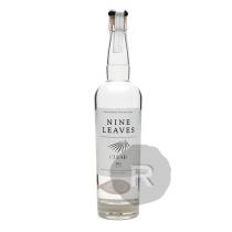 Nine Leaves - Rhum blanc - Clear - Millésime 2015 - 70cl - 50°
