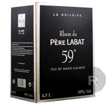 Père Labat - Rhum blanc - Cubi - 4,5L - 59°