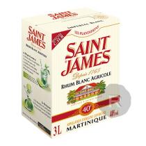 Saint James - Rhum blanc - Cubi - 3L - 40°
