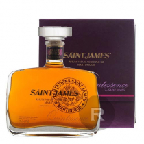 Saint James - Rhum hors d'âge - Quintessence - Carafe - 70cl - 42°