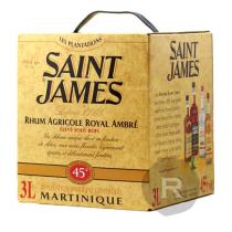 Saint James - Rhum ambré - Royal ambré - Cubi - 3L - 45°