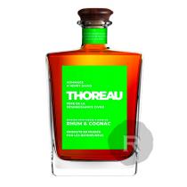 Thoreau - Boisson Spiritueuse - Rhum et Cognac - 70cl - 40°