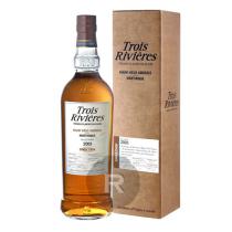 Trois Rivières - Rhum hors d'âge - Single cask - Ex-Cognac - Millésime 2005 - 70cl - 43°