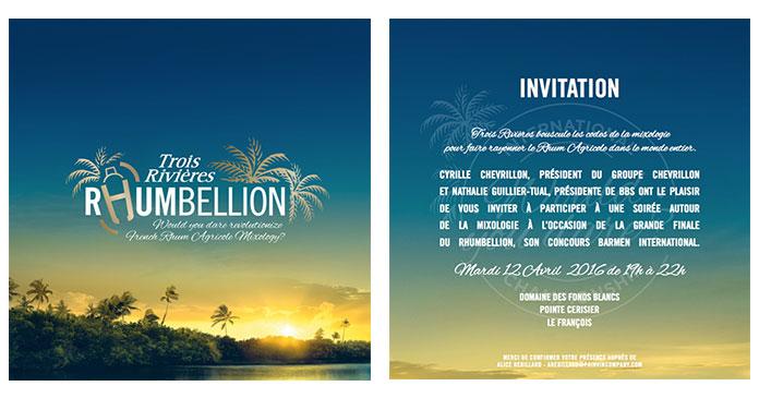 carton invitation finale rhumbellion trois rivieres