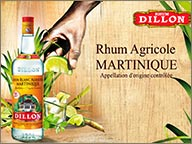 photo de publicite rhum blanc dillon