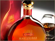 photo de carafe de rhum vieux dillon
