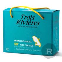 Trois Rivières - Rhum blanc - Cubi - 3L - 50°