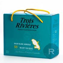 Trois Rivières - Rhum blanc - Cubi - 3L - 55°