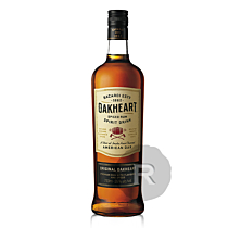Bacardi - Rhum ambré - Oakheart - Spiced rum - 70cl - 35°
