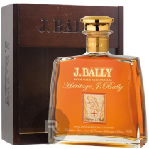 Bally - Rhum hors d'âge - XO - Héritage - Carafe - Coffret bois - 70cl - 43°