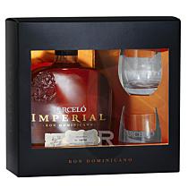 Barcelo - Rhum hors d'âge - Imperial - Coffret 2 verres - 70cl - 38°