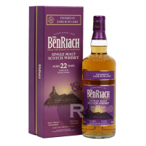 Benriach - Whisky - 22 ans - Dark rum finish - 70cl - 46°