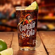 Captain Morgan - Verres à long drink - Coniq - 33cl x 6