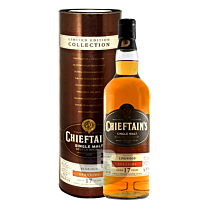 Chieftain's - Whisky - Benriach - 17 ans - Millésime 1996 - HSE Rum finish - 70cl - 43°