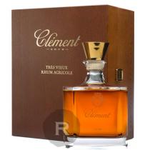 Clément - Rhum hors d'âge - Carafe Cristal numérotée 1000 ex. - Coffret luxe - 70cl - 42°